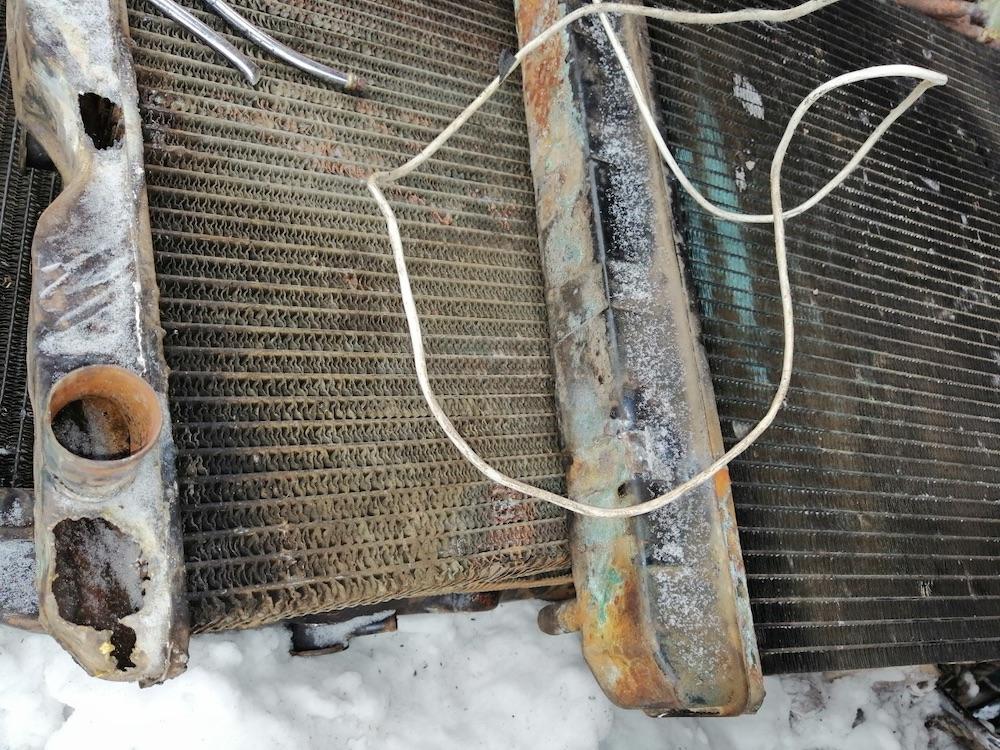 фото старых радиаторов от машин